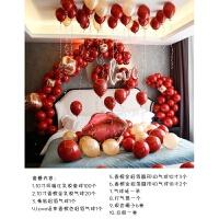 结婚用品女方 浪漫婚房布置套装气球结婚装饰婚礼新房卧室男方女方婚庆场景用品