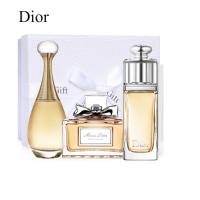 法国迪奥/Dior女士香水礼盒套装 真我5ml+魅惑5ml+花漾5ml 三件套