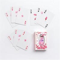粉雨映画古风扑克牌 少女系休闲桌牌游戏 聚会/派对桌面纸牌游戏 1副价钱