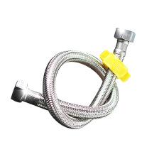 天王卫士钢丝软管 高压天卫浴不锈钢进水金属编织龙头马桶热水器30CM-1米订制