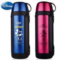 迪士尼大容量保温杯 户外运动旅行壶 不锈钢登山壶 2L水壶