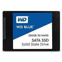 【支持当当礼卡】WD西部数据500GB SSD固态硬盘 SATA3.0接口笔记本固态硬盘台式机SSD Blue系列-3D