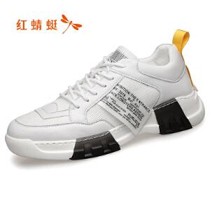 红蜻蜓男鞋ins超火的鞋子男潮鞋春季休闲运动网红老爹鞋C0191373