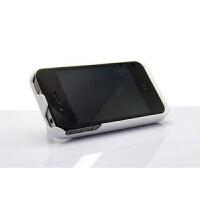 �O果iphone4/4s背�A�池 手�C充���外�ぬ� 外置移�与�源3000毫安