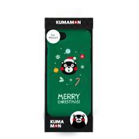 【正版授权】酷MA萌 熊本熊原创手机壳IPhone7/7P/8/8P/X手机保护套个性男女 绿色圣诞 Iphone 8