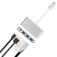 20190721001516975转换器苹果笔记本转接头MacBook Air/Pro拓展坞USB-C连接VGA投影仪