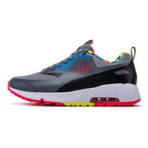 【下单5折 再叠加满100减10 满200减20】361度女鞋运动鞋跑步鞋女气垫休闲鞋女