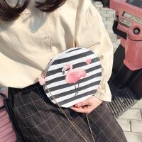 可爱日系软妹小圆包帆布单肩包韩版文艺森系迷你斜挎包小清新背包