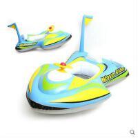 儿童宝宝游泳圈坐圈加厚婴儿座圈摩托艇方向盘韩国宝宝卡通泳圈可礼品卡支付