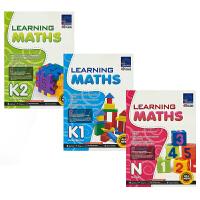SAP Learning Maths Collection N-K2 新加坡数学 学习系列幼儿园数学3册套装 新亚出版