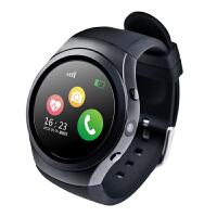 智能手表插卡心率GPS定位通话防水运动男女兼容苹果安卓 远程拍照/计步/三重定位/久座提醒/闹铃/音乐 全贴合电容式触