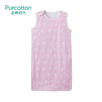 全棉时代 婴儿六层纱布提花背心睡袋48x80cm1件装