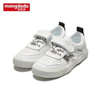 【1件3折折后价38.7】mongdodo梦多多童鞋儿童板鞋秋季2019新款时尚板鞋潮
