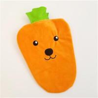 暖手袋 热水袋 0032绒面可拆布套胡萝卜 单个价格 图案*