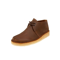 Clarks/其乐沙漠靴男士复古休闲鞋蜂蜡涂层沙漠靴26113552