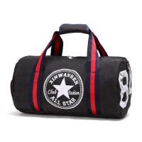 运动包男斜挎单肩包健身包女手提旅行包圆筒篮球包训练包