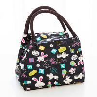 手拿包时尚布艺包手提包女士小包便当包手拎饭盒袋牛津布妈咪女包