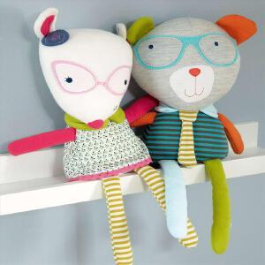 玩偶抱偶 婴儿安抚玩偶公仔宝宝陪睡毛绒玩具