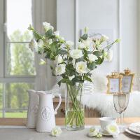 餐桌居家装饰品干绢花束桔梗花艺摆件