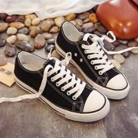 春季帆布鞋男士韩版休闲男鞋子经典布鞋运动板鞋情侣款低帮鞋潮鞋