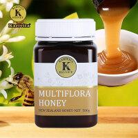 卡瑞特兹 新西兰进口多花种纯蜂蜜 百花天然蜂蜜500g
