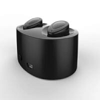 BaaN 真无线蓝牙耳机双耳迷你超小隐形蓝牙耳机分离式运动跑步4.2车载 黑色