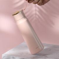 不锈钢保温杯子女学生便携随手小水杯瓶可爱个性创意潮流简约