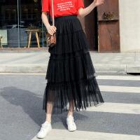 茉蒂菲莉 孕妇裙 女式裙子夏季新款女装韩版时尚雪纺无袖蕾丝蛋糕裙短款连衣裙潮妈孕妇装