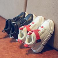 儿童运动鞋高帮秋冬男女童加绒鞋童鞋子