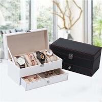手表盒首饰收纳盒公主多格饰品收拾整理盒礼物