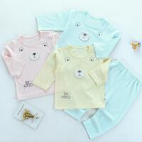 歌歌宝贝宝宝长袖空调服薄款婴幼儿夏季新款内衣套装儿童家居服薄