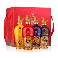 五粮液股份丁酉(鸡)年纪念酒52度500mLx4瓶浓香型白酒