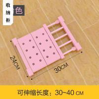 收纳衣柜 柜子分层收纳置物可伸缩免钉隔板隔层架隔层板厨房浴室宿舍抖音同款