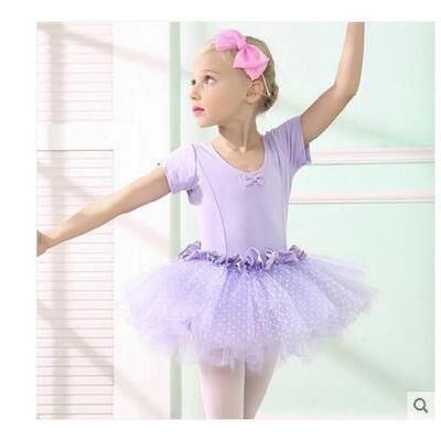 儿童舞蹈服装幼儿芭蕾舞表演服女童练功服蓬蓬裙韩版中国风舞蹈裙儿童