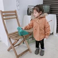 童装女童外套秋冬儿童宝宝冬装洋气公主风衣
