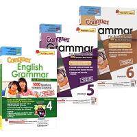 SAP Conquer Grammar Workbook 小学4-6年级 攻克系列语法练习册 3册 9-12岁 新加坡