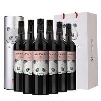��裕官方旗�店 ��裕菲尼潘�_赤霞珠干�t葡萄酒750ml*6果香型葡萄酒 整箱6瓶