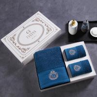 【人气】放心购 五星级酒店浴巾三件套纯棉大毛巾浴巾礼盒套装1浴+2面巾