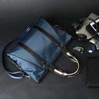 20180910041454453尼龙防水男士手提包公文包时尚潮流商务男包单肩包斜挎包男电脑包