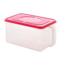 6升可叠加带手柄食品级储物盒收纳盒冰箱橱柜带盖杂粮密封