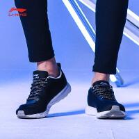 李宁跑步鞋男鞋2017新款跑步系列轻质透气晨跑运动鞋ARBM041