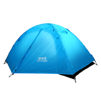 帐篷户外2人家用野外露营野营简易自驾游户外帐篷双人双层 支持礼品卡支付