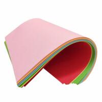 A4彩色纸 80克打印纸 复印纸 印刷纸 120克/180克彩色折纸 手工纸 学生美工课DIY彩纸