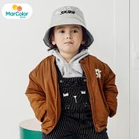 【1件4折】巴拉巴拉马卡乐童装男宝宝冬季新款男童时尚廓形短款外套
