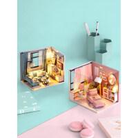 智趣屋diy小屋手工制作小房子模型拼装玩具创意情人节生日礼物女