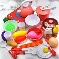 儿童过家家厨房玩具套装小女孩做饭炒菜煮饭锅娃娃家仿真厨具