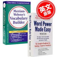 现货 单词的力量+韦氏词根词典 工具书字典英语套装 英文原版Word Power Made Easy Vocabula