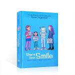 英文原版Share Your Smile:Raina's Guide to Telling Your Own Stor