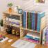 @御目 书架 简约现代学生桌上书架书柜简易组合儿童桌面小架子创意办公置物架书柜子