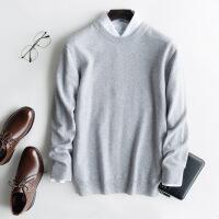 №【2019新款】冬天穿的羊绒衫男圆领加厚青年大码山羊绒毛衣男衫打底衫